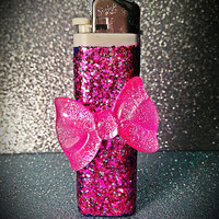 Pink Bow Lighter