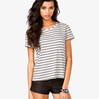 Striped Studded Tee