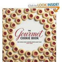 Amazon.com: The Gourmet Cookie Book: The Single Best Recipe from Each Year 1941-2009 (9780547328164): Gourmet Magazine: Books