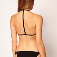 ASOS Mix and Match Moulded T Back Triangle Bikini Top at asos.com