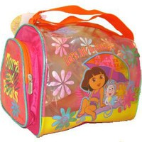 Amazon.com: Dora the Explorer & Boots Girls Pink Beach Duffle Bag: Toys & Games