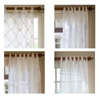Taylor Linens Curtain Panels Collection