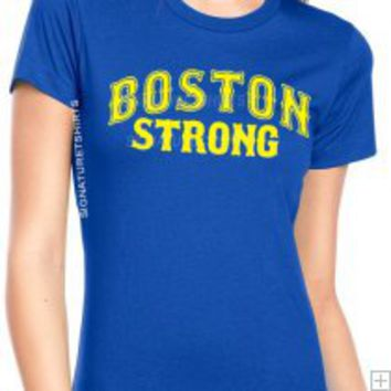 Boston strong t shirt marathon womens from for Boston strong marathon t shirts