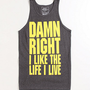 Riot Society Damn Right Tank at PacSun.com