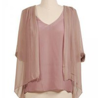 Mauve about you Blouse