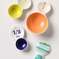 Anthropologie - Color Tab Measuring Spoons