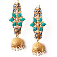 Akriti Star Earrings - INDIAN BAZAAR Akriti Star Earrings