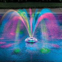 Musical Underwater Light Show & Fountain - Improvements: Patio, Lawn & Garden