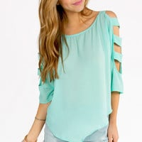 Elisa Cut Out Top $30