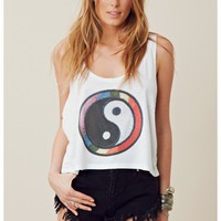 The Laundry Room Yin Yang Patch Boxy Tank