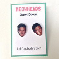 Daryl Dixon // The Walking Dead earrings