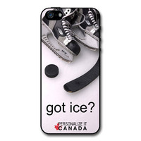 Hockey - got ice iPhone Case