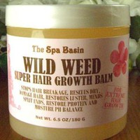 Wild Weed Super Hair Growth Formula /Soften and Moisturize Dry, Frizzy, Hard to Manage Hair/Anti-Breakage Formula/Silky Soft Hair/6.5 Oz/180 G: Beauty