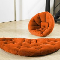 Fresh Futon Nido Orange: Home &amp; Kitchen