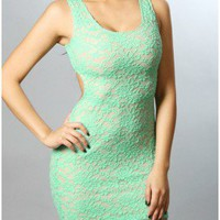 The Jade Summer Party Dress