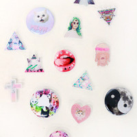 Graphic Lasercut Pins | Tarte Vintage