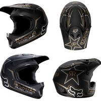 2012 Fox Rockstar Rampage DH MTB Helmet Cycle Mountain Bike Full Face