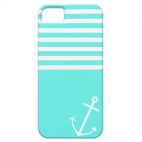 Turquoise Nautical iPhone 5 Cover from Zazzle.com