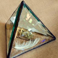 Great Lakes Prism Paperweight