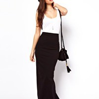 ASOS Maxi Skirt at asos.com