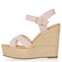 WHISPERED Cross Over Wedges