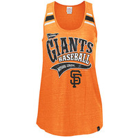 San Francisco Giants Women&#x27;s Triblend Scoop Racerback Tank by 5th &amp; Ocean