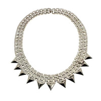 Spiked Pointed Necklace