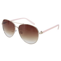 Basic Thin Aviator Sunglasses | Shop Accessories at Wet Seal