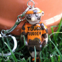 Tough Mudder Guy Keychain
