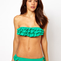 Mouille Emerald Green Bikini at ASOS