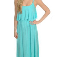 Got Your Back Maxi in Aqua - New Arrivals