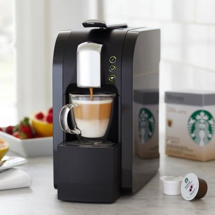 Starbucks Verismo Single-Cup Coffee and from Sur la Table
