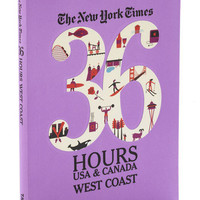 The New York Times 36 Hours - West Coast | Mod Retro Vintage Books | ModCloth.com