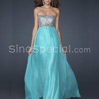Free shipping:  Neckline Floor Length Sequins Prom Dress
