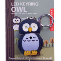 Kikkerland Design Inc   » Products  » LED Keychain + Owl