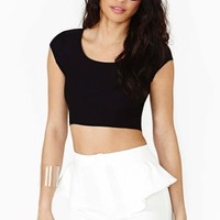 Night Curve Crop Top