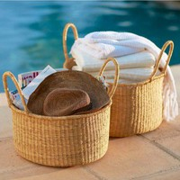 Double-Handle Baskets (set of 2) - VivaTerra