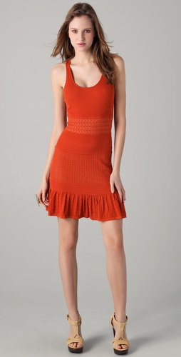 Catherine Malandrino Pointelle Tank Dress | SHOPBOP