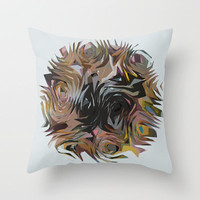 ori Throw Pillow by Sharon Turner