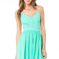 Luna Dress in Mint - ShopSosie.com