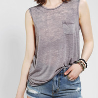Ecote Oceanfront Burnout Muscle Tee