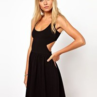 ASOS Sundress With Cut Out Back at asos.com