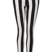 MOTO Stripe Leigh Jeans - Jeans - Clothing - Topshop USA