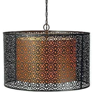 JCPenney : Artesia Perforated Steel Pendant