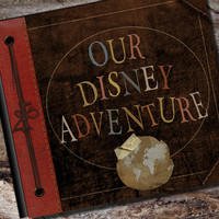 Disney Adventure Book Personalized Vacation by AlbumOptions