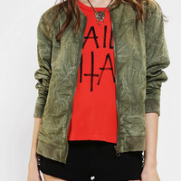 Urban Outfitters - Silence & Noise Bellweather Bomber Jacket