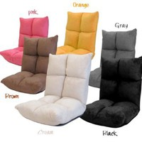 Futon Chair Recliners Floor Folding Chairs Living Room Gaming Chair: Home &amp; Kitchen