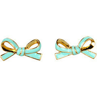 Kate Spade New York Skinny Mini Bow Studs