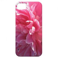 Pink Peony iPhone 5 Covers from Zazzle.com