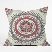 DENY Designs Home Accessories | Belle13 Paisley Mandala Love Throw Pillow